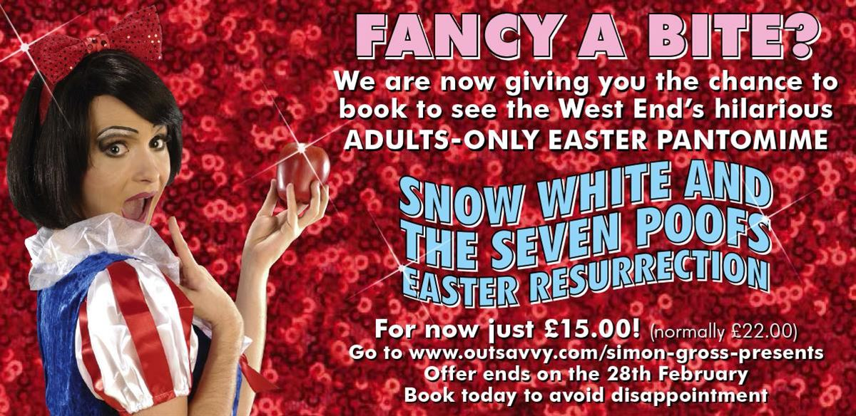 Snow White And The Seven Poofs The Easter Resurrection