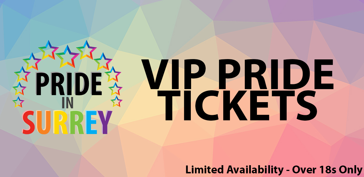 Pride In Surrey 2019 (VIP Tickets) tickets