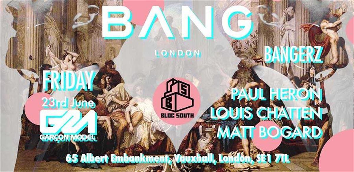 BANG @ Bloc South tickets