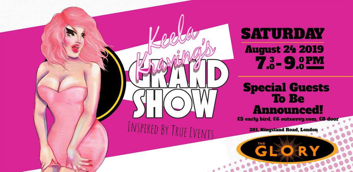 Keela Kraving's Grand Show! tickets