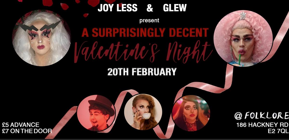 A surprisingly decent Valentines Night tickets