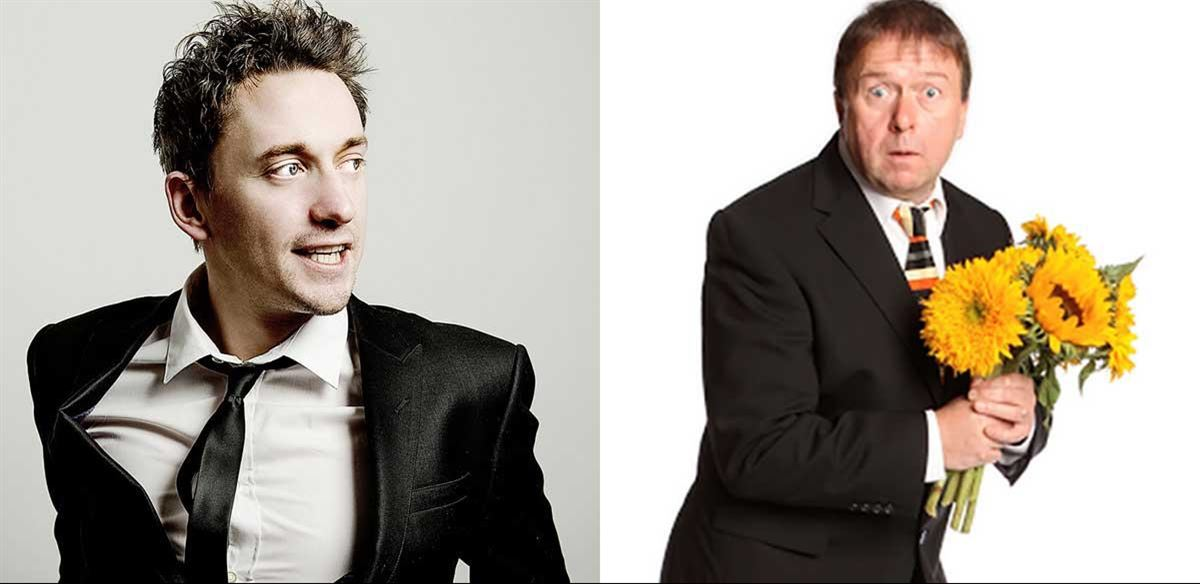 Steve Gribbin and John Robins at The Honor Oak