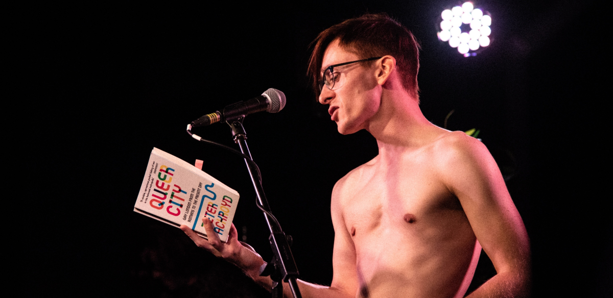 Naked Boys Reading: January Diet tickets
