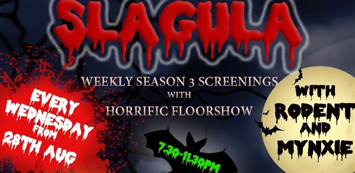 SLAGULA!: Dragula viewing party with Mynxie and Rodent tickets