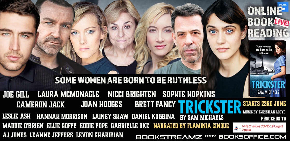 Trickster by Sam Michaels with Sophie Hopkins, Cameron Jack, Brett Fancy, Joan Hodges, Leslie Ash,  tickets