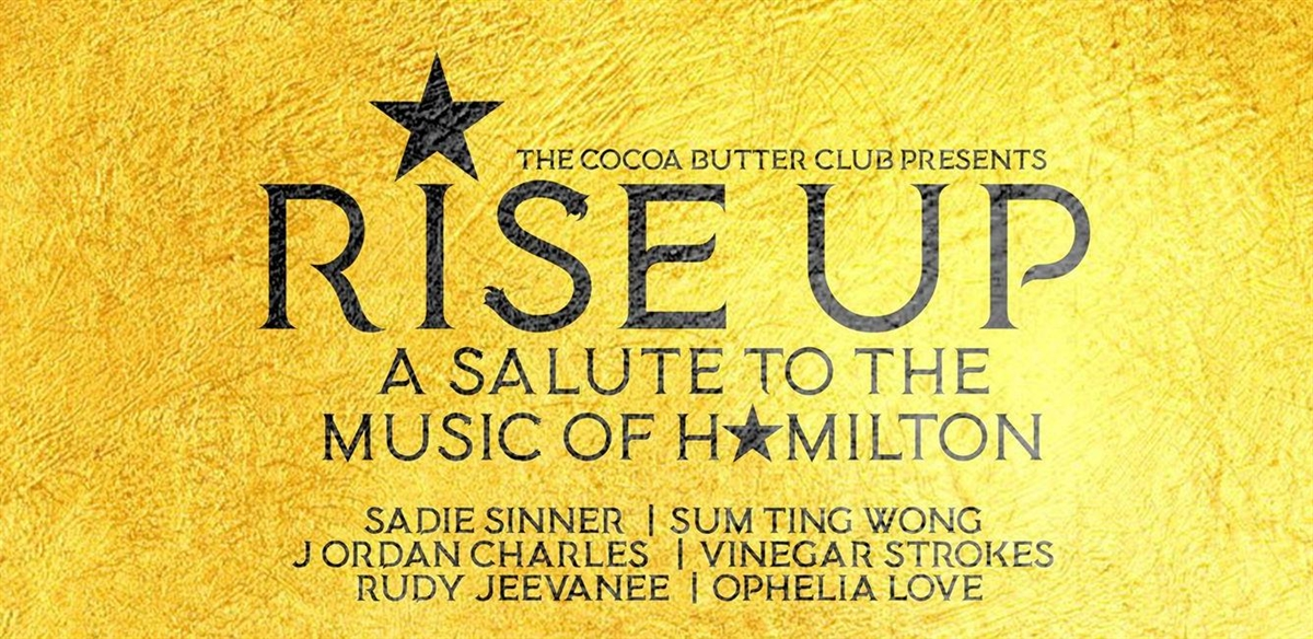 Rise Up - with The Cocoa Butter Club tickets
