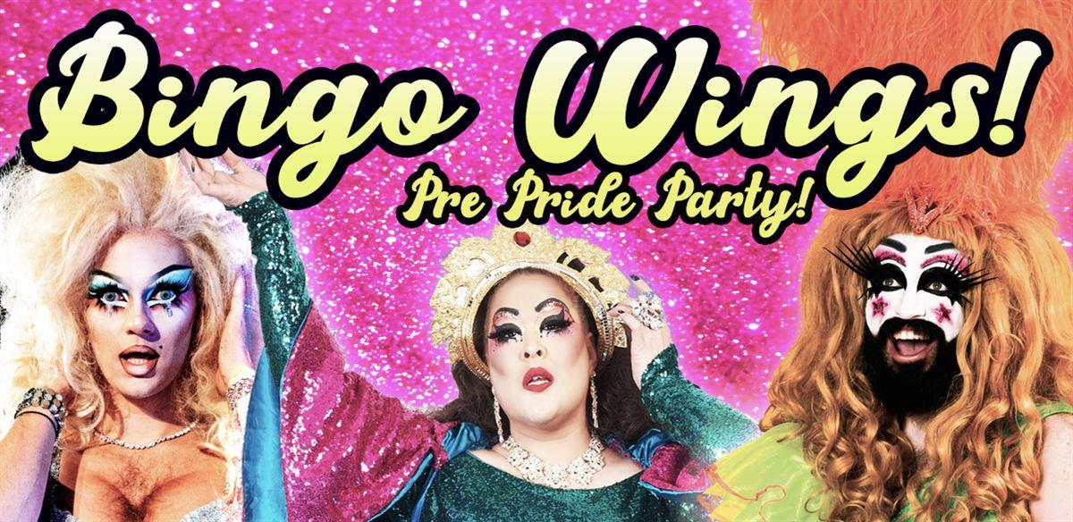 Bingo Wings Pre-Pride Party! FREE! tickets