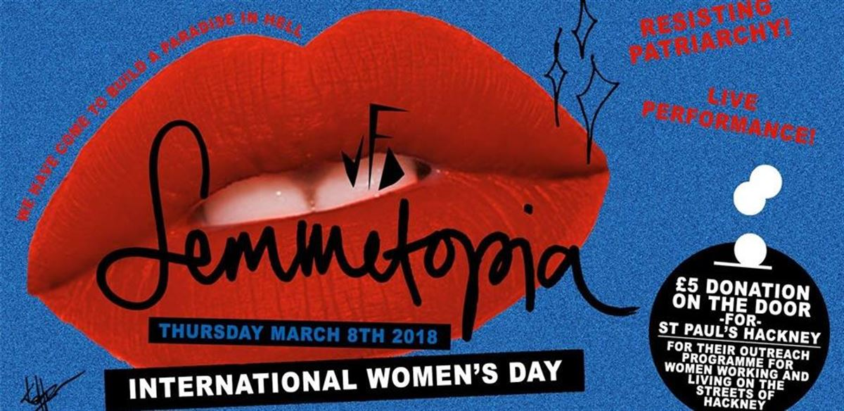 Femmetopia special: International Women's Day! tickets