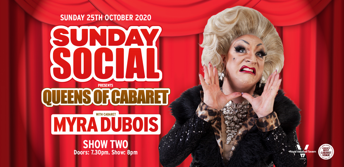 Sunday Social with Myra DuBois - Show Two  tickets