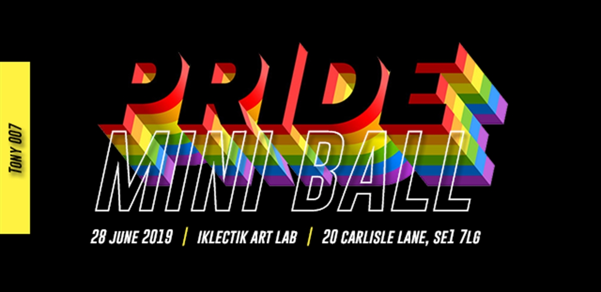 PRIDE Mini Ball tickets