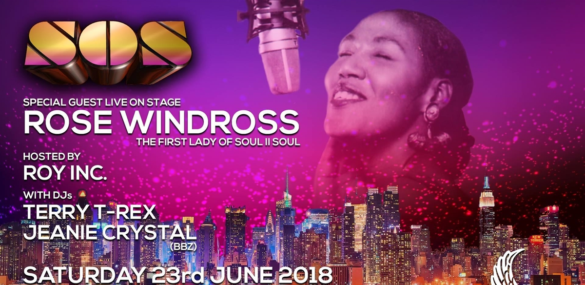 SOS-Soul on Saturday with Rose Windross Live tickets