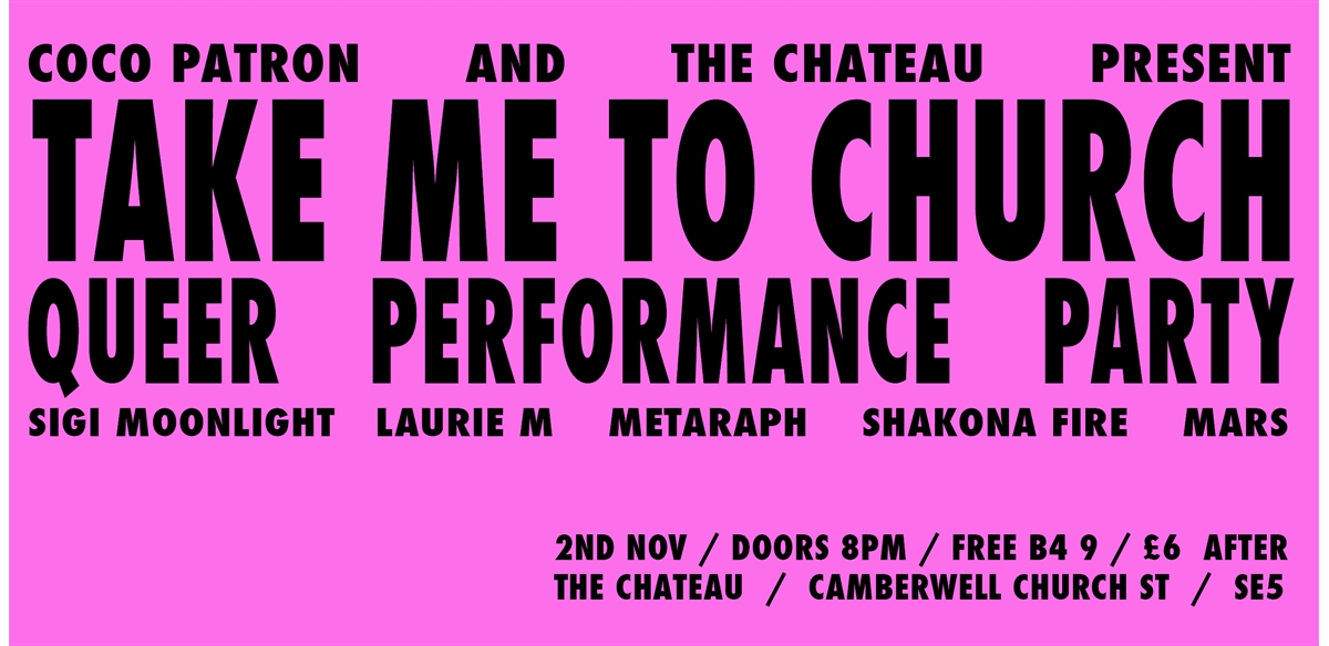 Take Me To Church - Autumnal Edition tickets