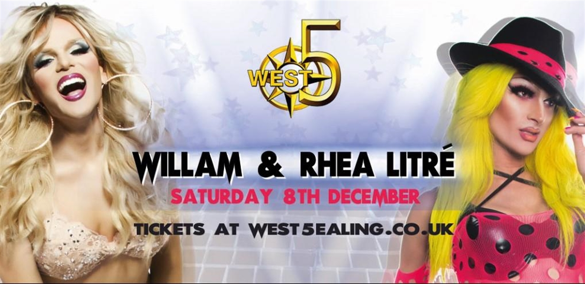 Willam & Rhea Litre tickets