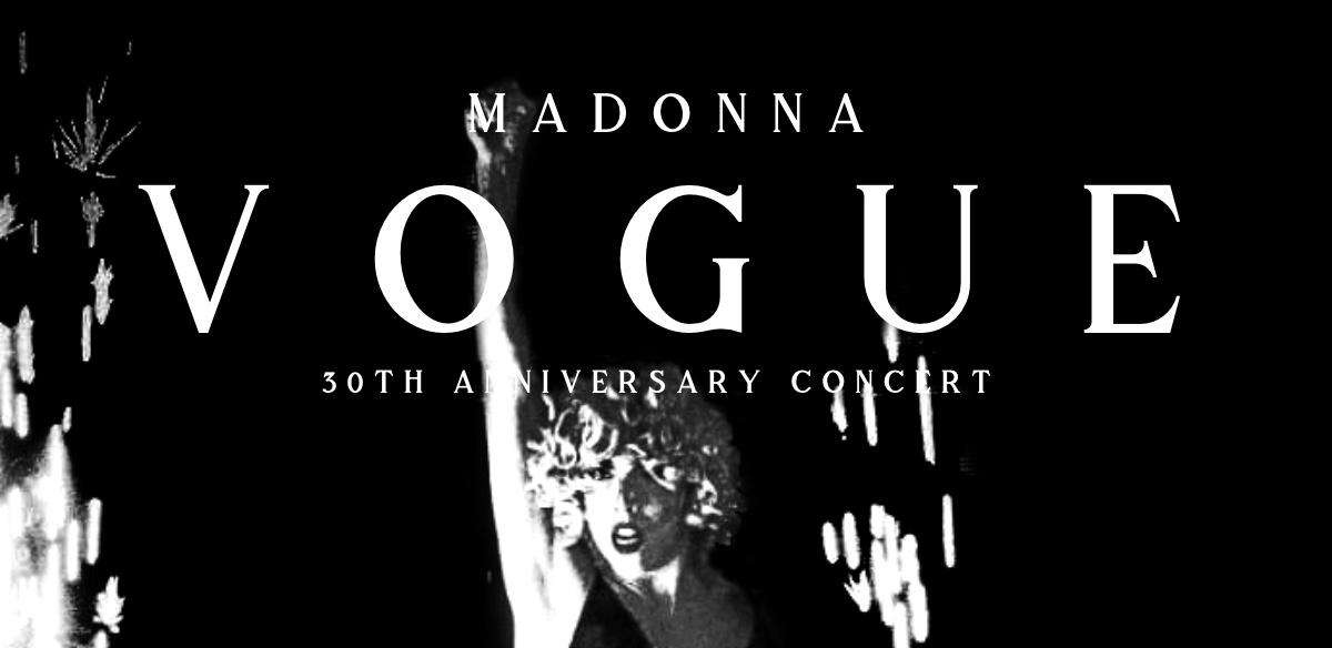 VOGUE - 30th Anniversary Concert tickets