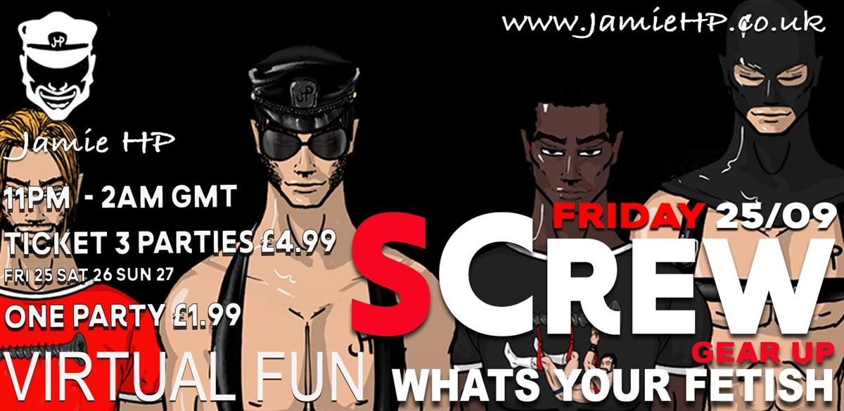 Virtual SCREW  Friday 25th tickets
