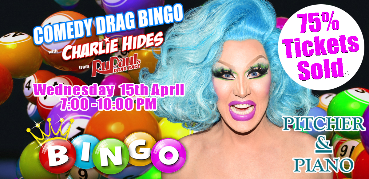Drag Bingo with Charlie Hides - Reading tickets