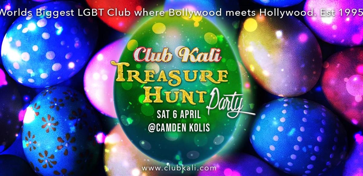 Club Kali Treasure Hunt Party!  tickets