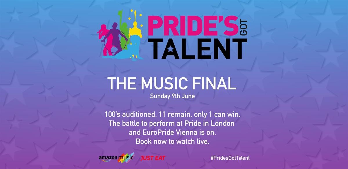 Pride's Got Talent Music Final tickets