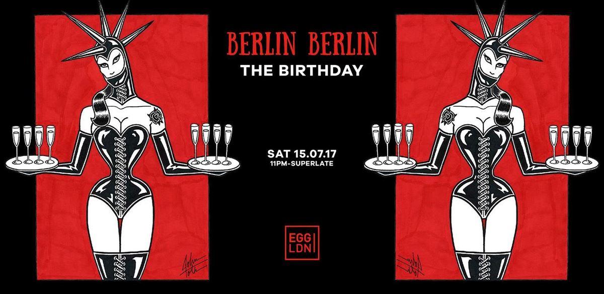 Berlin Berlin - The Birthday: Sisyphos, Steyoyoke, Rumpelkammer tickets