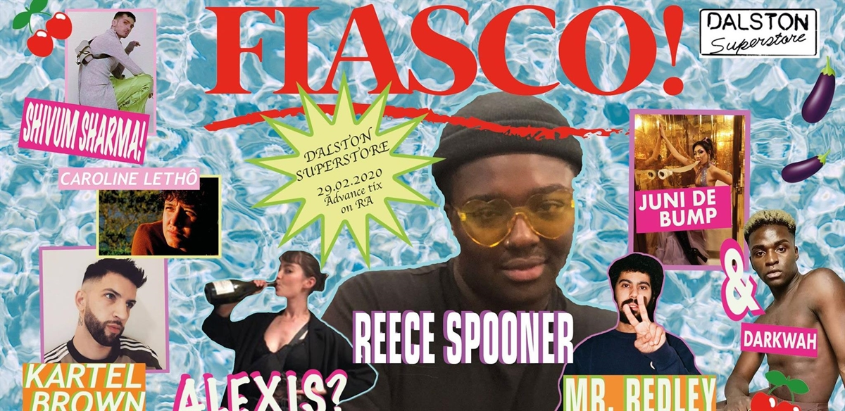 Fiasco! with Alexis, Caroline Lethô & Mr. Redley tickets