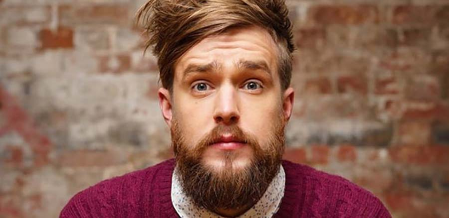 Iain Stirling at Laugh Train Home