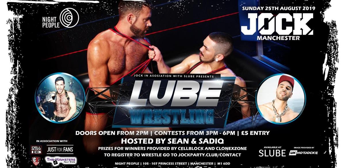 JOCK Lube Wrestling Pride Special tickets