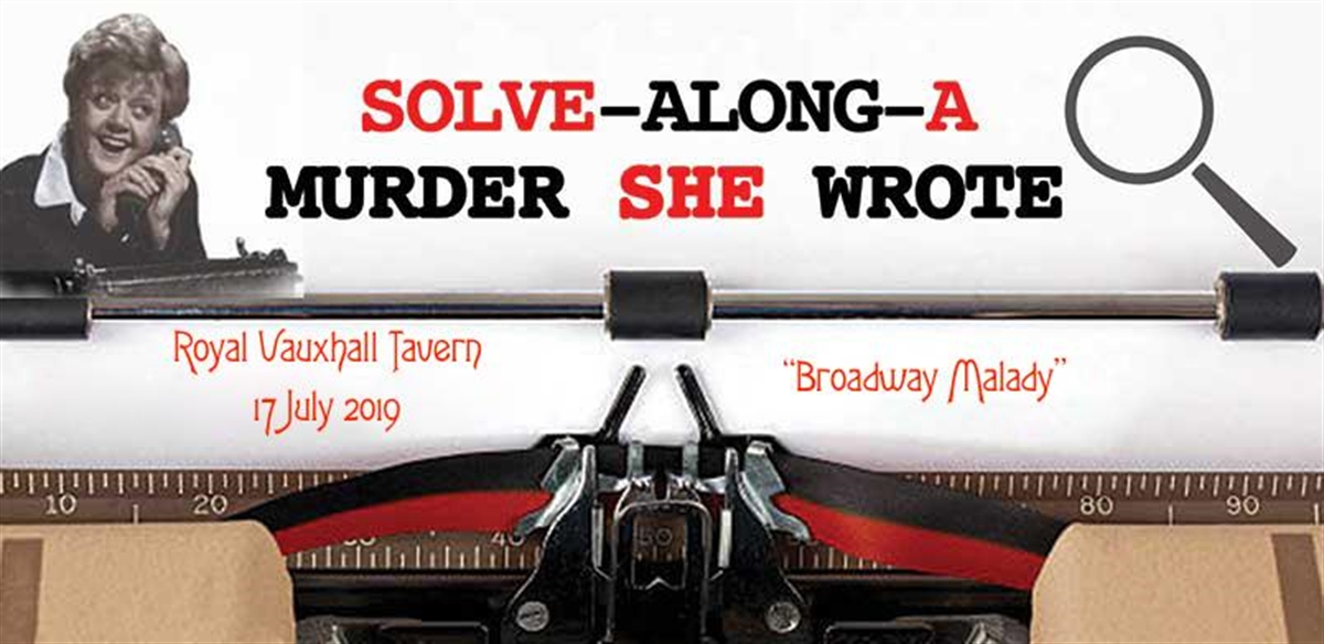 Solve-Along-A-Murder-She-Wrote at the RVT -