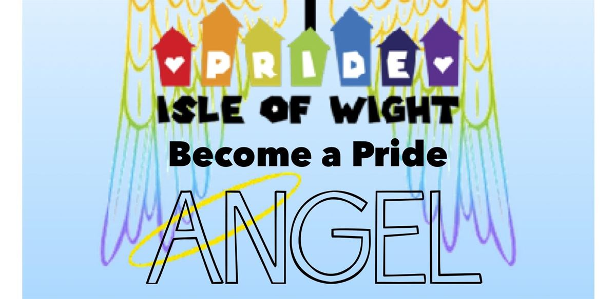 Become a Pride Angel for Isle of Wight Pride 2018!
