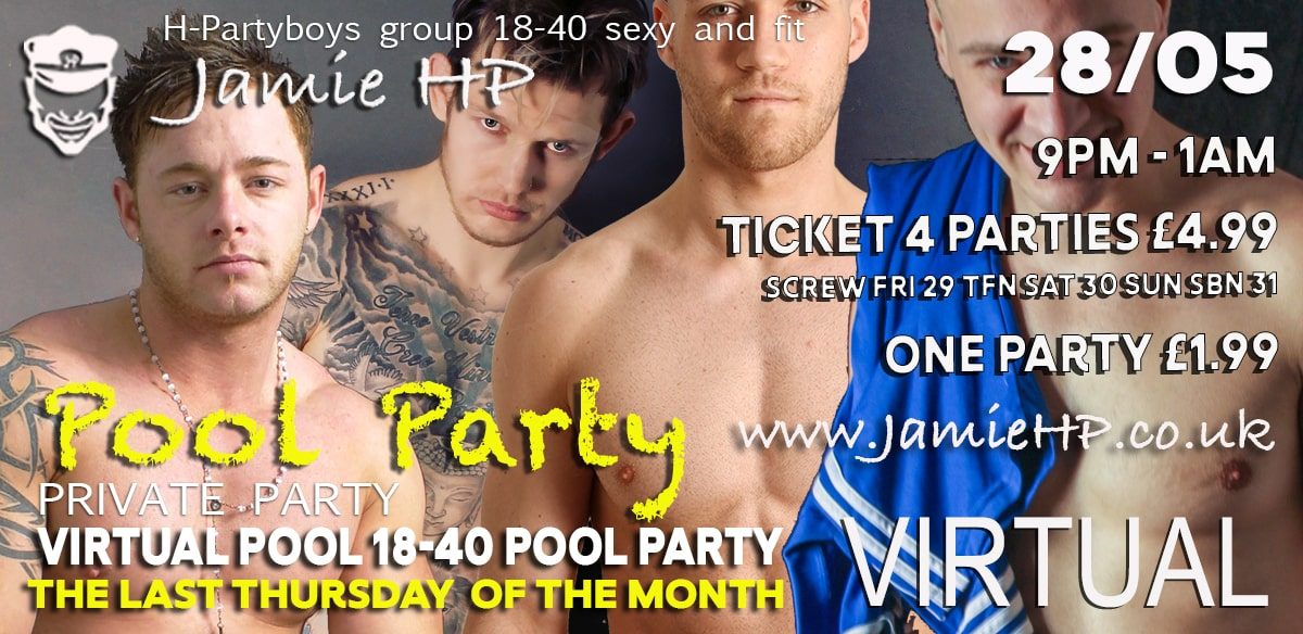 VIRTUAL POOL PARTY tickets