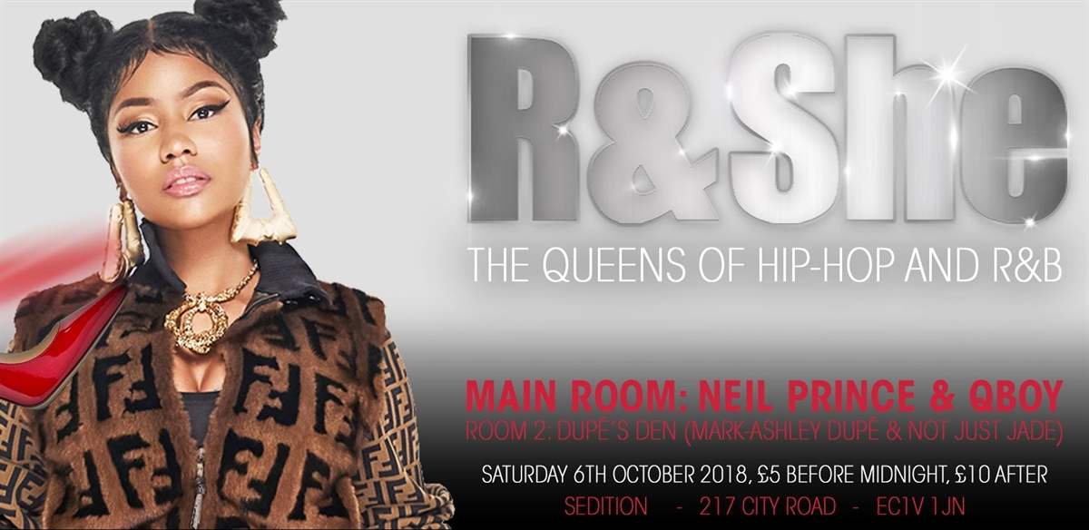 R & She: The Queens Of Hip-Hop And R&B tickets