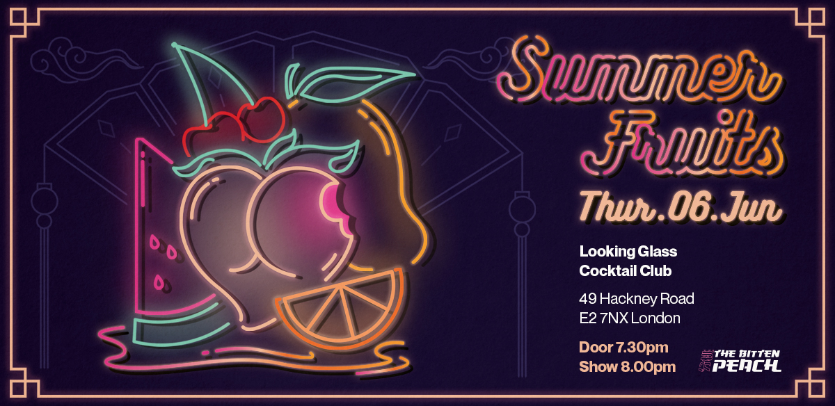 The Bitten Peach - Summer Fruits tickets