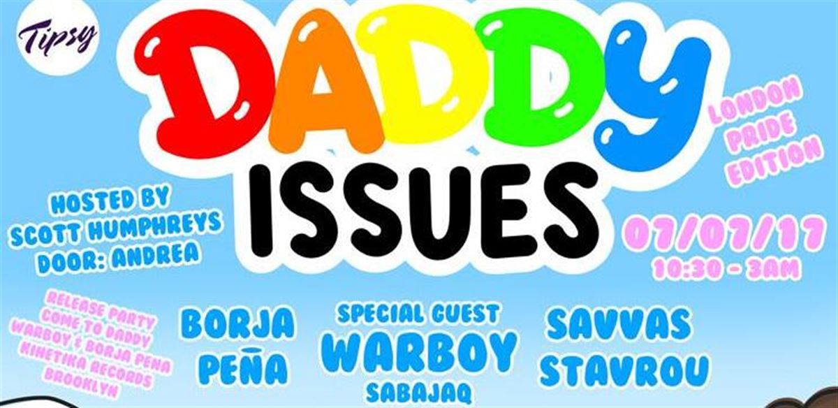DADDY Issues London Pride