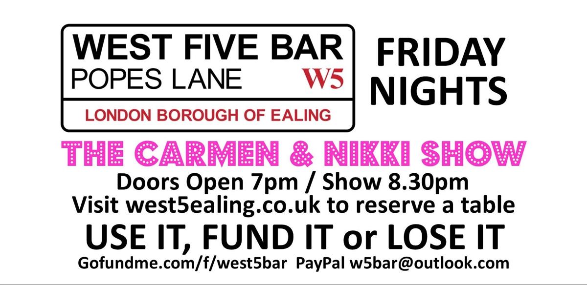 The Carmen & Nikki Show tickets