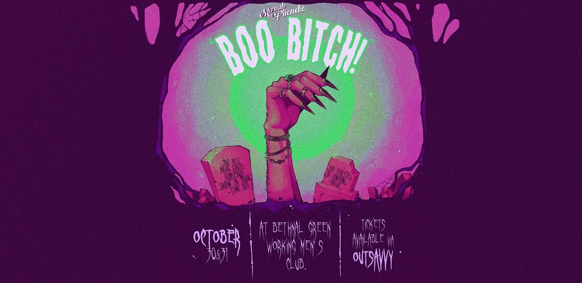 Mariah & Friendz: BOO BITCH! tickets
