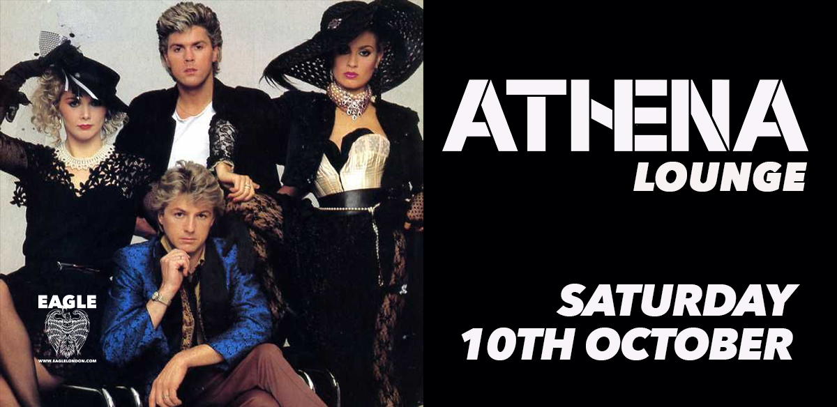 Athena's '80s Lounge - October tickets