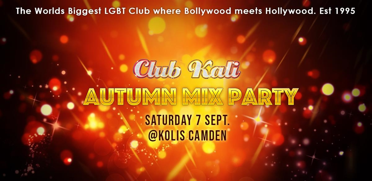 Club Kali Autumn Mix Party!  tickets