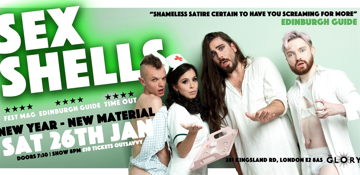 Sex Shells January Show tickets