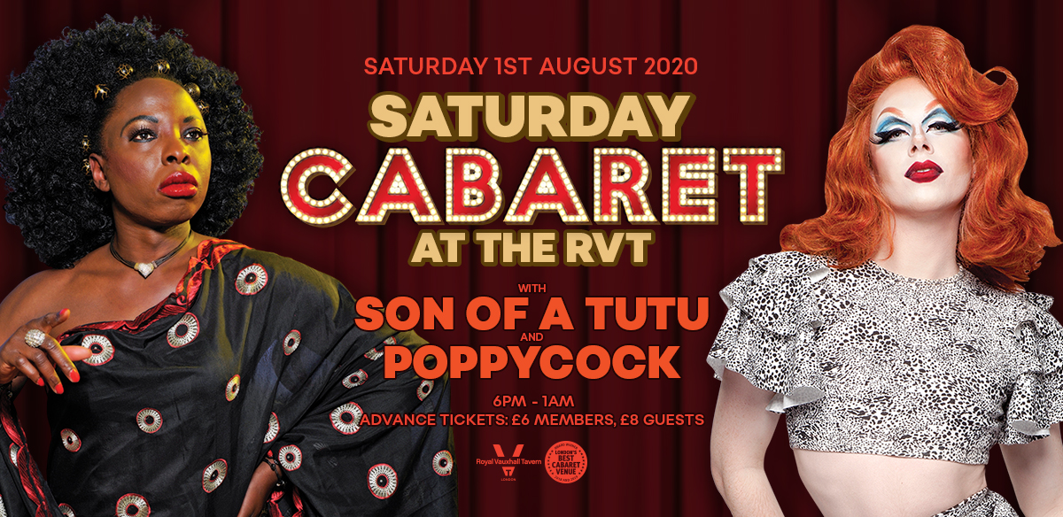 Saturday Cabaret at The RVT tickets