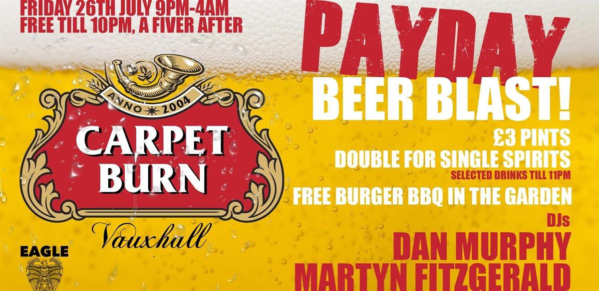 Carpet Burn's Beer Blast! tickets