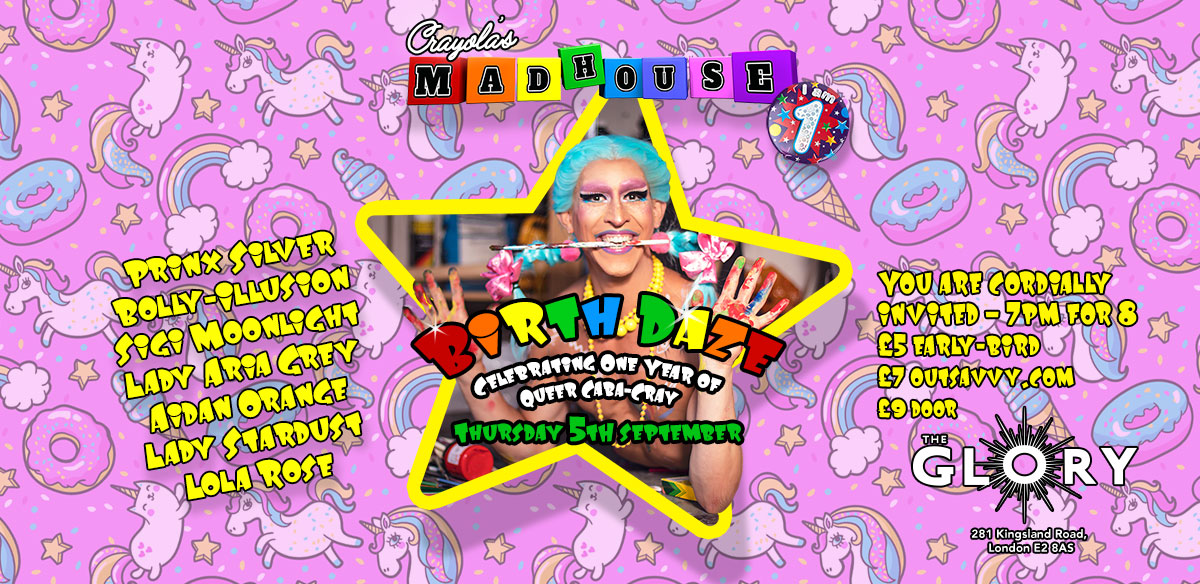 Crayola's Madhouse: Birth Daze tickets