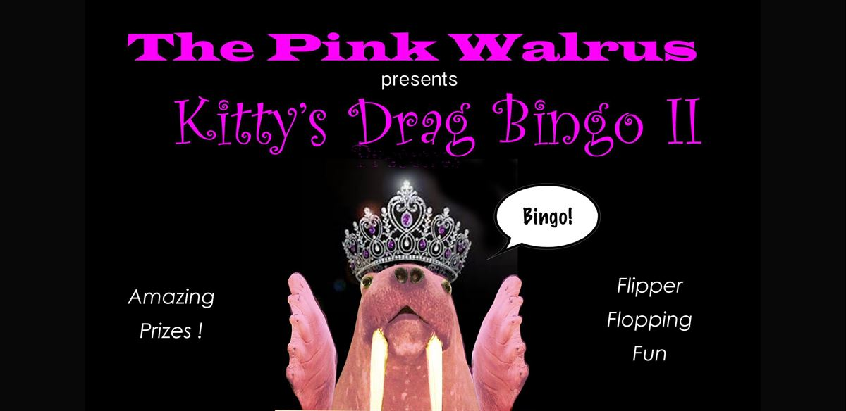 Pink Walrus - Kitty's Drag Bingo II tickets