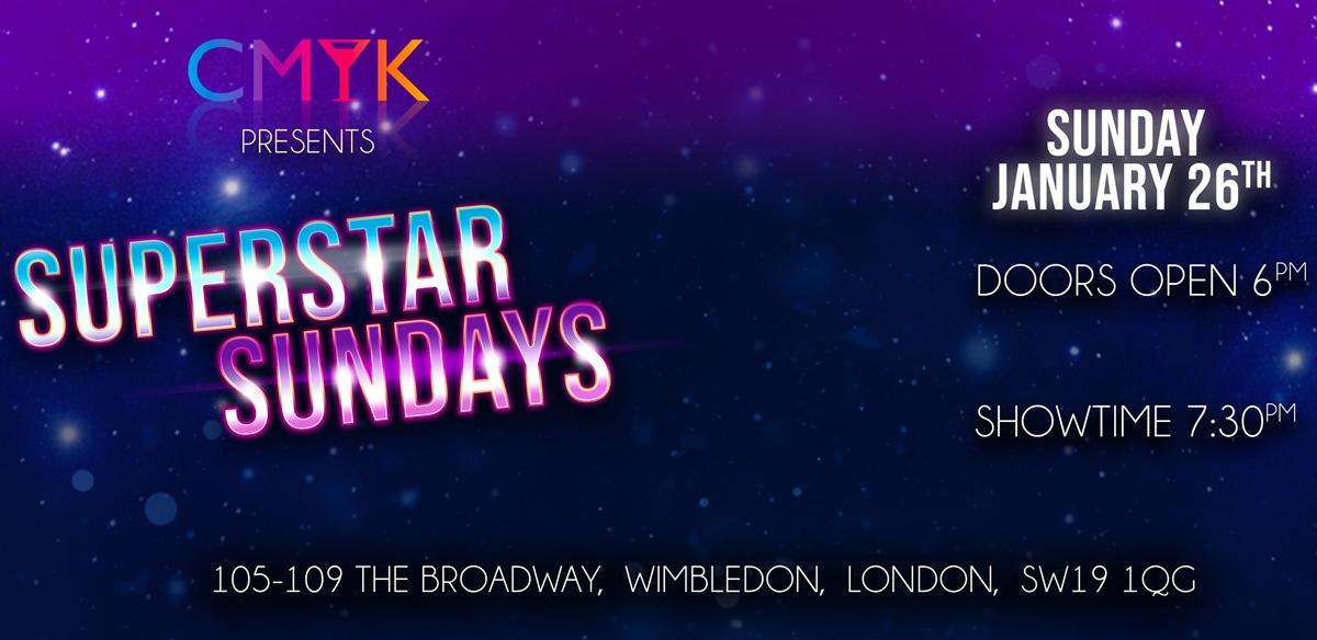 Superstar Sundays @ CMYK Bar tickets