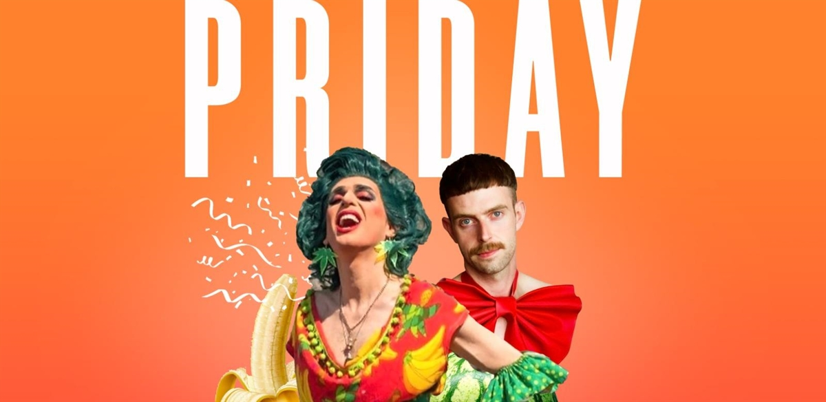 PRIDAY – Pride Party with Veda Lady & Mark T Cox