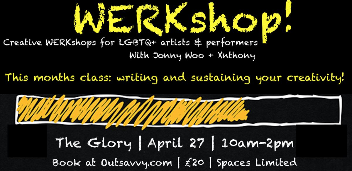 WERKshop with Jonny Woo & Xnthony tickets