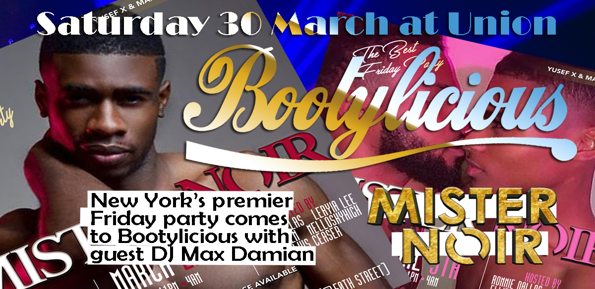 Bootylicious welcomes guest Club MISTER NOIR NYC tickets