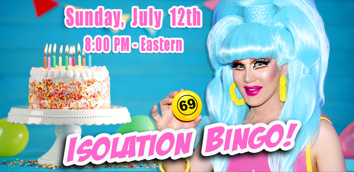 ISOLATION BINGO - USA Edition 8 PM EASTERN tickets