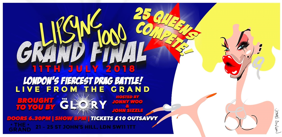 Lipsync1000 Grand Final tickets