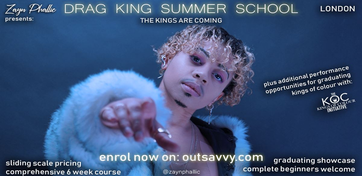 Drag King Summer School 2019 tickets