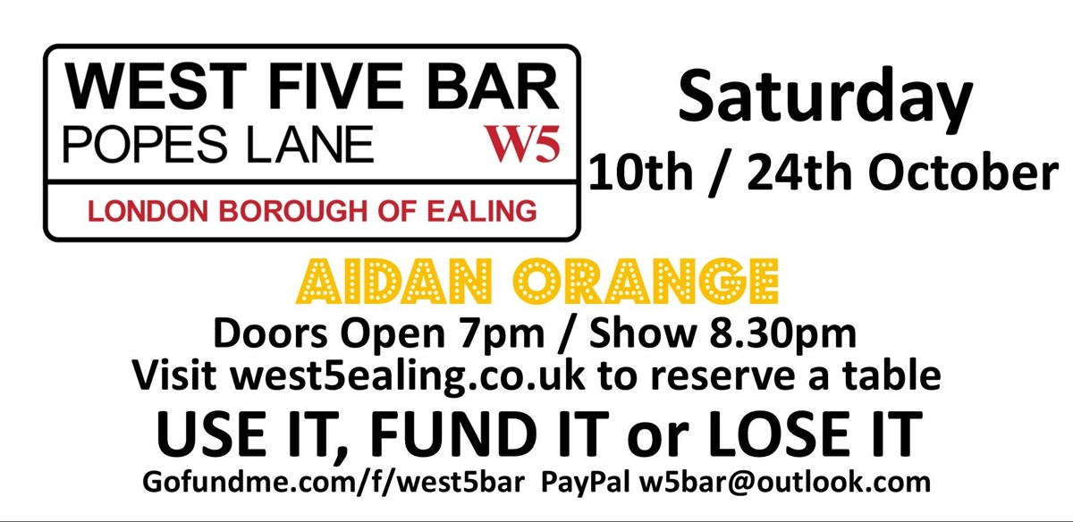 Saturday Night Live With Aidan Orange tickets