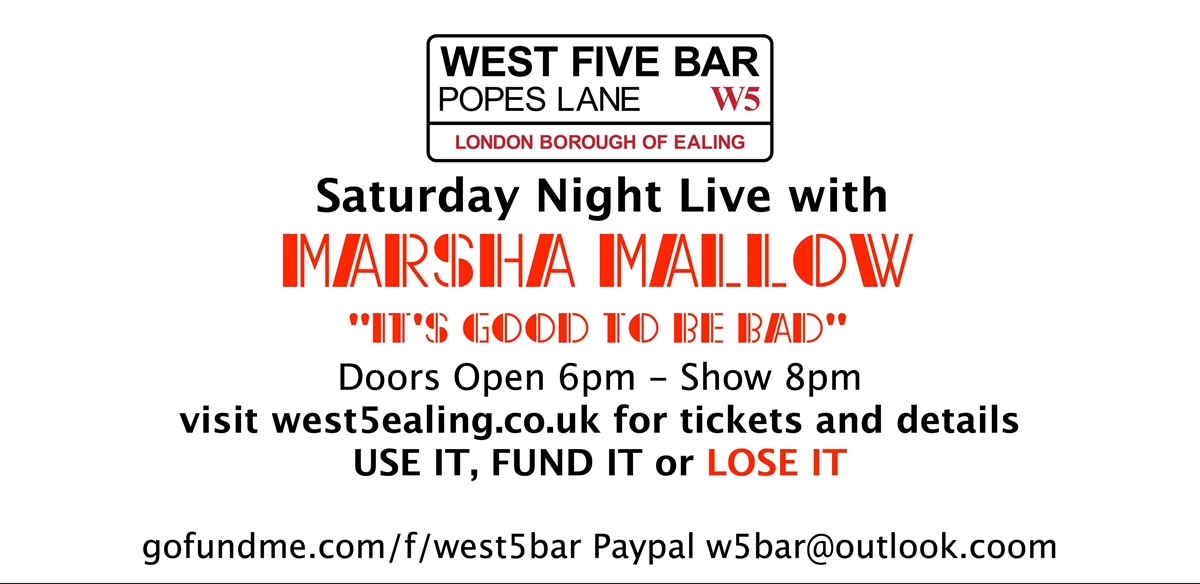 Marsha Mallow / It's good to be bad! tickets